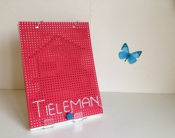 Handmade book ' Tai ' (Dutch, red)