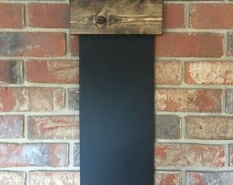 FREESHIP RUSTIC CHALKBOARD | farmhouse chalkboard | chalkboard list | menu |