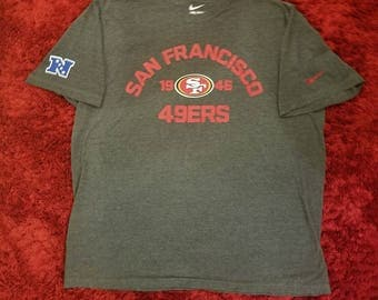 Nike San Francisco 49ers T-Shirt with Nike and NFC symbol