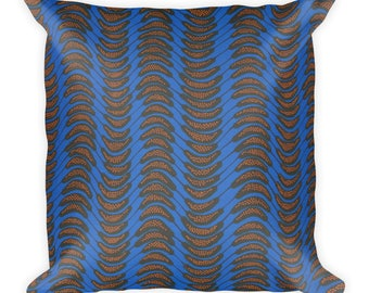 Namazzi African Inspired Wax Print Square Pillow