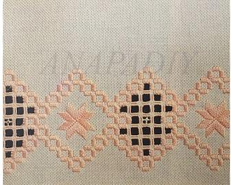 PDF Hardanger Embroidery Antimacassar