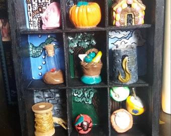 Once Upon a Time original miniature fairy tale art box