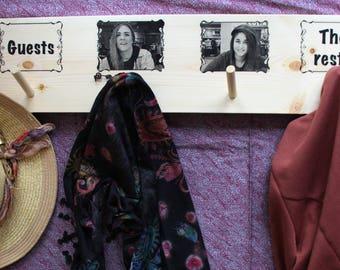 Personalised Coat Hanger / Coat Rack