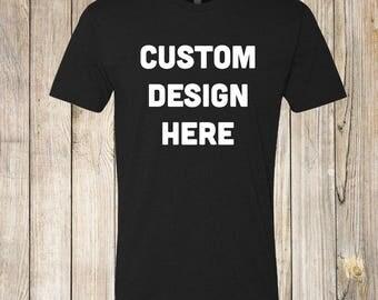 Mens Custom Tshirt