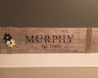 Personalized ceramic tile with wood look