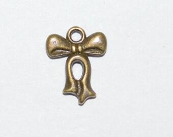 30 color antique bronzet 15x12mm nodes pendants