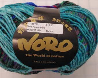 Noro Yarn - The World of Nature-Kureopatora - color #1034