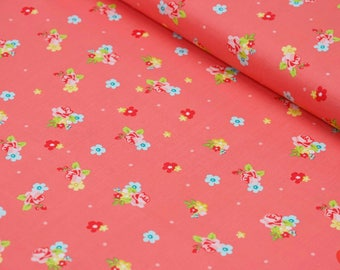 Floral Fabric by the Yard, Cotton Fabric by the Yard, Cotton Quilting Fabric, 100% Cotton Fabric, Floral Quilt Fabric, Riley Blake Fabric