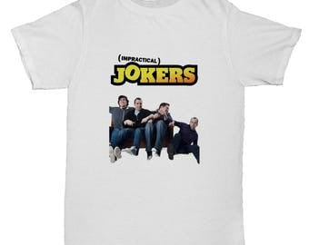 Impractical Jokers Comedy Movie Film Comedy Cartoon Classic Mens Retro Inspired Funny T Shirt