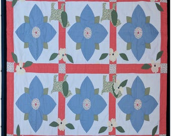 MAGIC FLOWER QUILT