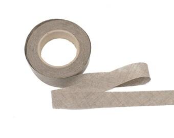 Linen Bias Binding Tape 20mm, 12 meters