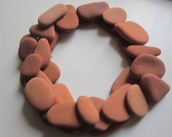 31 pieces of sea Terracotta/ceramics for crafts, mosaics/Art.T-1