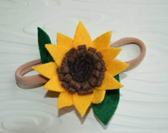 Sunflower Hair Piece