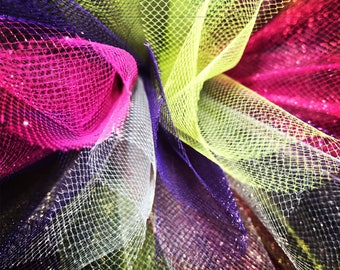 Purple, Pink, Lime Green Tutu
