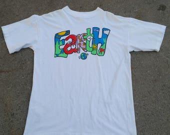Vintage Earth Pop Art shirt