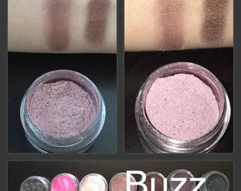 Buzz Rose Gold Loose Mineral Powder Eyeshadow
