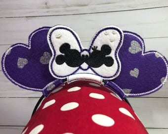 Minnie & Mickey Inspired Kissing Mouse Ears
