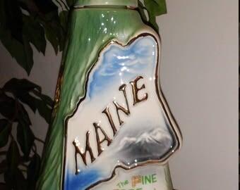 Vintage 1970 Maine Jim Beam Bottle