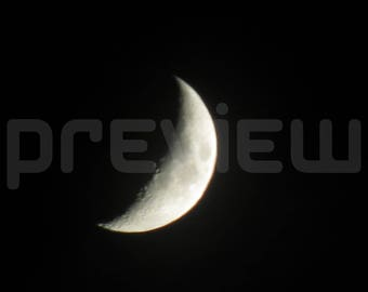 Crescent Moon Photo