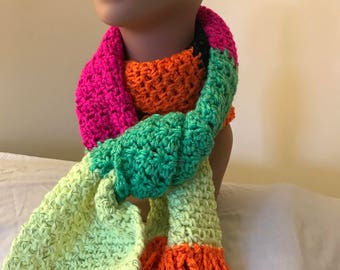 Mulit-Colored Reflective Scarf