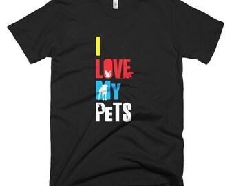 I Love my pets T-Shirt