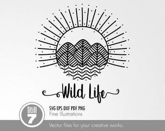 Wild Life #2 svg eps dxf pdf png