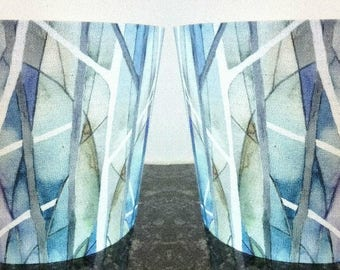 Pair of Lampshades / Voyage Fabric / Light Shades / Skylark / Woodbury / For Ceiling Lamp / For Floor Lamp / Pendant / Drum