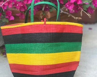 Colorful African Baskets