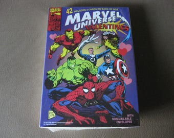 Marvel Universe Valentines sealed in box 1994 for Valentines Day!