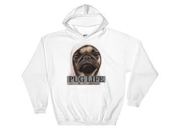 Pug Life Hooded Sweatshirt