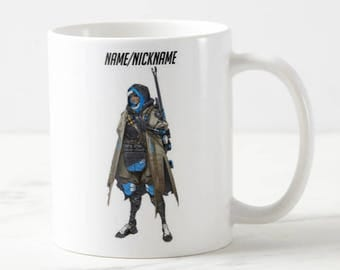 Personalised Overwatch Mug - Overwatch Mug - Overwatch Support - Custom Mug - Funny Mug - Gift Mug - Gift For Him - Overwatch - Custom Gift