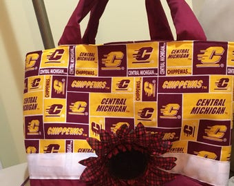 Central Michigan Chippewas tote/purse