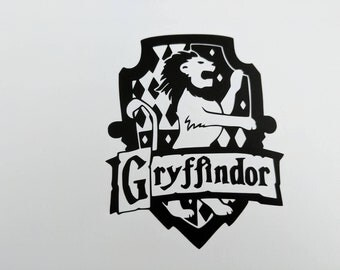 Harry Potter House Gryffindor Decal