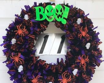 Halloween Wreath (BOO)