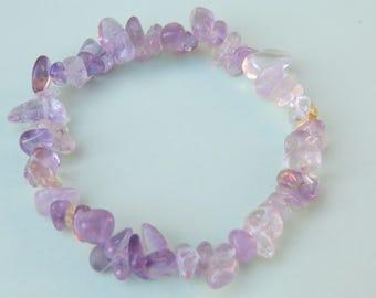 Natural 18 cm stretch stone bracelet