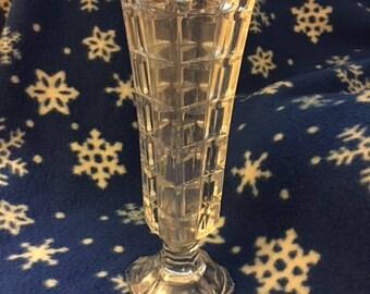 Vintage crystal vase  Unknown maker, no marks