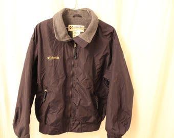 Vintage 90s Columbia Fleece Lined Coat - Women's M