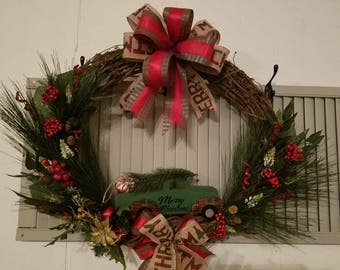 Truck Vine Wreath