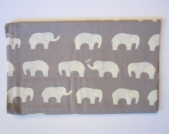 "Birch Organic Fabrics ""Mod Basics"" Elephant Fabric"