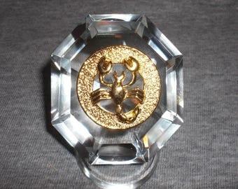 Scorpio - miniature collectible crystal figurine