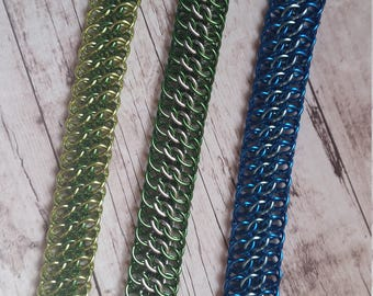 GSG chainmaille bracelet - Great Southern Gathering weave