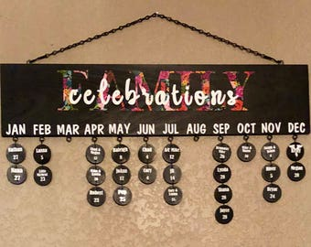 Family Celebration Sign