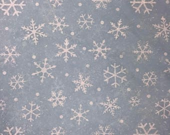"Snowflakes Christmas Tissue Paper Gift Wrapping Flower Making 20""x30"""