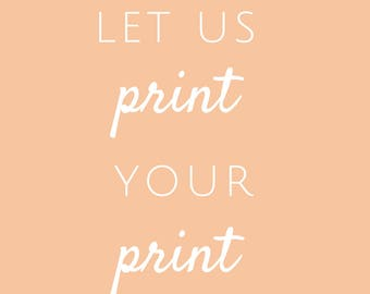 Printing -  Add On