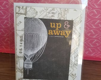Handmade Blank Inside Greeting Card
