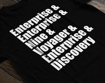 Boldly Go - Shirt - Star Trek Shirt - Gifts for Him
