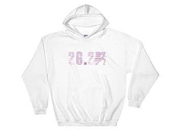Hoodie Marathon Running 26.2 Hooded Sweatshirt
