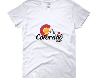 I Love the Colorado Trail Women's short sleeve t-shirt