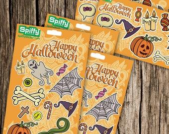 Halloween Sticker 5-packs