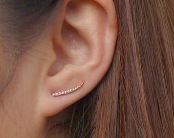 Minimalist Ear Climbers    Edgy Ear Crawlers   Ear Sweep